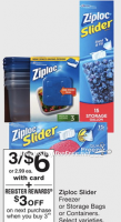 FREE + $3.00 Moneymaker on Ziploc Bags & Containers! 5/21 – 5/27