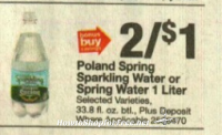 WOHOO IT'S BACK!! Free Poland Spring Water at Stop & Shop! 5/5 – 5/11