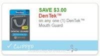 **NEW Printable Coupon** $3.00/1 DenTek™ Mouth Guard