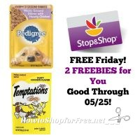 Two FRIDAY FREEBIES for YOU at Stop & Shop!