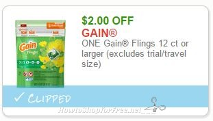picture regarding Gain Printable Coupons called Tide/Financial gain Down below $2 How toward Store For Totally free with Kathy Spencer