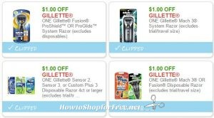 graphic relating to Gillette Coupons Printable referred to as Fresh Printable Discount coupons** 4 Gillette Discount coupons Pre-Clipped for