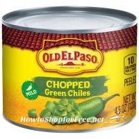 Old El Paso Green Chiles $.59 @ Wegmans!