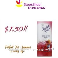 Wow Crystal Light Drink Mix $1.50 at Stop & Shop(5/12/17-5/18/17)