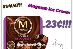 YUMMMY Magnum Ice Cream Bars only .23¢ each at Stop & Shop (5/19/17-5/25/17)