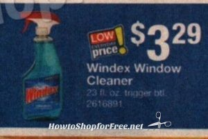 Clean Up Time!!! Windex Cleaner only $1.79 at Stop & Shop(5/19/17-5/25/17)