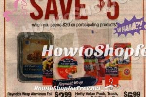 Check out this HOT Deal Scenario!! 10 Hefty items $1.00 each at Stop & Shop(5/19/17-5/25/17)