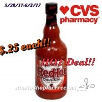 Whoa! Franks Red Hot .25¢ Grillen Savings at CVS(5/28/17-6/3/17)