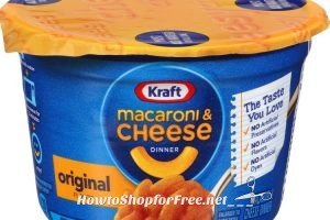 **Amazon Deals** *HOT* Kraft Easy Mac Original Cheese, 2.05-Ounce Microwavable Cups (Pack of 10)