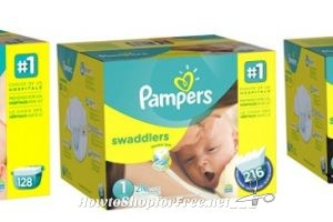 **Amazon Deals** Up to 50% Off Select Pampers Diapers!