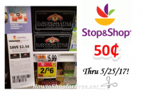 Land O'Lakes European Style Super Premium Butter only $.50 at Stop & Shop!  Thru 5/25/17!