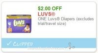Did You Print this High-Value LUVS Coupon Yet?