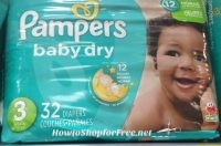 Pampers Cruisers for under $7 at Walmart!