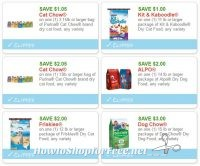 **NEW Printable Coupons** 6 Pet Food Coupons Pre-Clipped for You!