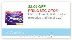 photograph regarding Prilosec Printable Coupon identified as Contemporary Printable Coupon** $2.00 off a single PRILOSEC Otc How in direction of