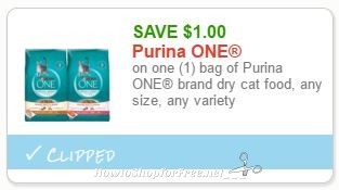 photo relating to Purina One Printable Coupon named Fresh Printable Coupon** $1.00/1 bag of Purina A person brand name dry