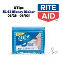 Rite Aid Double Dip Money Maker on Q-Tips! *NO COUPONS NEEDED*