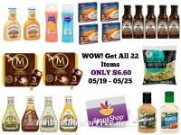 WOW! Get All 22 Items at Stop & Shop for ONLY $6.60 – 05/19 ~ 05/25