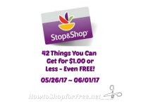 42 Things You Can Get for $1.00 or Less (even FREE) at Stop & Shop 05/26 ~ 06/01!