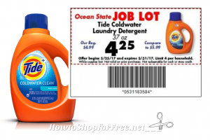 37oz Tide Coldwater for $2.25 at #OSJL this week!