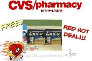 FREE!FREE!FREE Zantac150 Free + Possible MM AT CVS(5/7/17-5/13/17)