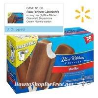 20ct. Blue Ribbon Classic® Ice Cream Bars UNDER $4 @ Walmart