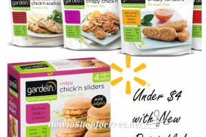 Gardein Meatless Products UNDER $4 at Walmart with New IP!