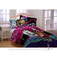 """Monster High """"All Ghouls Allowed"""" Comforter 81% OFF"""