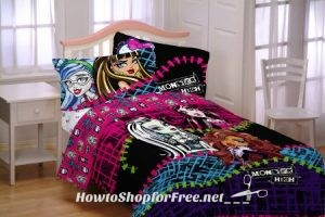 "Monster High ""All Ghouls Allowed"" Comforter 81% OFF"