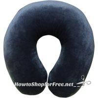 U-Shape Memory Foam Travel Neck Pillow ONLY $3.12!!