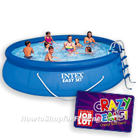 $100 Intex Easy Set Pool from Job Lot!!