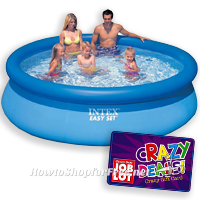 Intex 10′x30″ Easy Set Pool UNDER $50 at Job Lot!