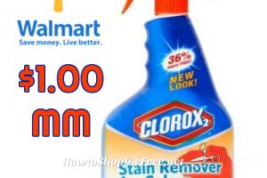 $1.00 MONEYMAKER Clorox 2 @ Walmart, thru 5/31