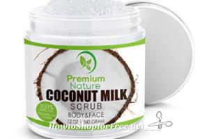 Coconut Milk Exfoliating Body Scrub UNDER $9 on Lightning Deal!