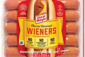 OSCAR MAYER Hot Dogs for $1.43 at Walmart!!