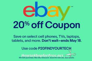 RARE ebay Coupon Code to Save on Electronics!