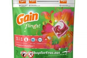 $5.49 Gain Flings! (31-32ct) at Ocean State Job Lot