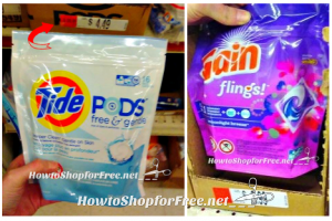 Tide PODS & Gain Flings, as low as $0.39!!!!!