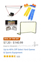 Up to 40% Off Yard Games & Sports Equipment ~Deal of the Day