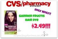 Hot Deal!!! Garnier Fructis Hair Color $2.49 at CVS(5/7/17-5/13/17)