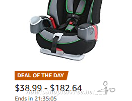 Up to 35% off select Graco Car Seats, Strollers & Gear ~Amazon DotD