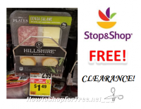 FREE Hillshire Small Plates at Stop & Shop! ~CLEARANCE~