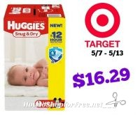 Huggies Super Packs Only $16.29 at Target! 5/7 – 5/13