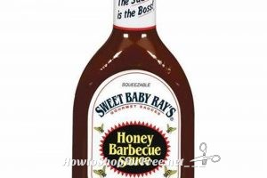40 oz Sweet Baby Ray's BBQ Sauce ONLY $2.48!