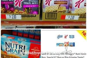 $1 Special K & Nutri-Grain Bars at Job Lot!!