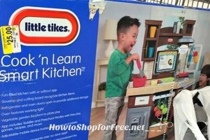 $25 Little Tikes Cook 'n Learn Smart Kitchen!