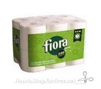 Fiora Batha Tissue, only .17 PER ROLL @ Job Lot this week!