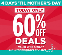 Still Shopping for Mom? Today Only, TONS of 60% off Michael's Deals!