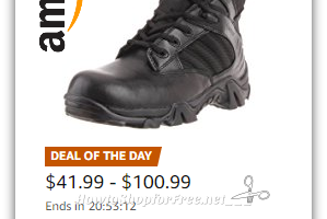 Up to 50% Off Military & Tactical Boots ~Today only on Amazon!