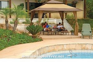 $100 OFF the Z-Shade 13′ x 13′ Gazebo ~ Perfect for Summer!